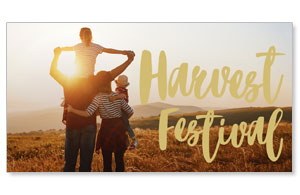 Fall is for Family Harvest Festival Social Media Ad Packages