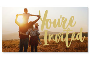 Fall is for Family You're Invited Social Media Ad Packages