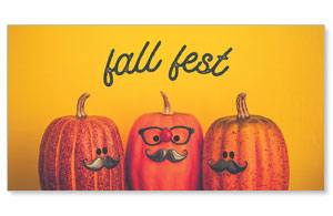 Mustache Fall Fest Social Media Ad Packages