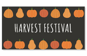 Pumpkins Hand Drawn Harvest Festival Social Media Ad Packages
