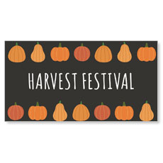 Pumpkins Hand Drawn Harvest Festival