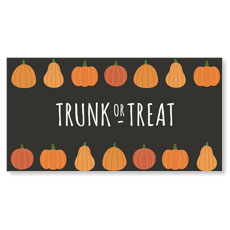 Pumpkins Hand Drawn Trunk or Treat