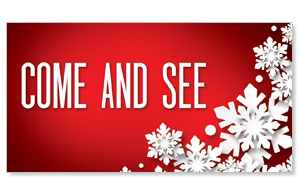 Christmas At Red Come and See Social Media Ad Packages