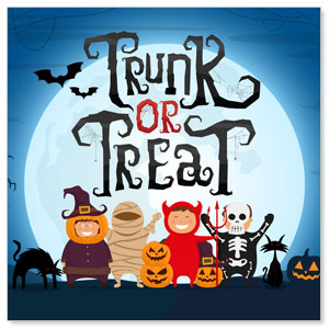 Trunk or Treat Kids Social Media Ad Packages