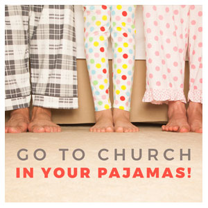 Church In Pajamas Social Media Ad Packages