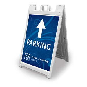 Flourish Parking 2' x 3' Street Sign Banners