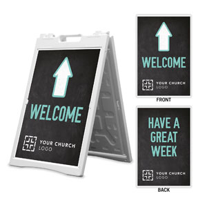 Slate Welcome Great Week 2' x 3' Street Sign Banners