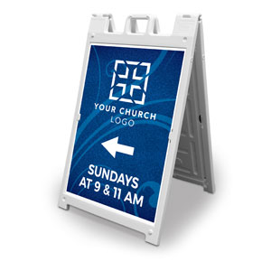 Flourish Church Logo 2' x 3' Street Sign Banners