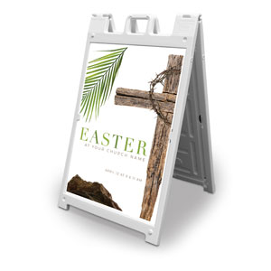 Easter Week Icons 2' x 3' Street Sign Banners