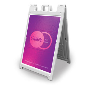 Icon Pink Tomb 2' x 3' Street Sign Banners