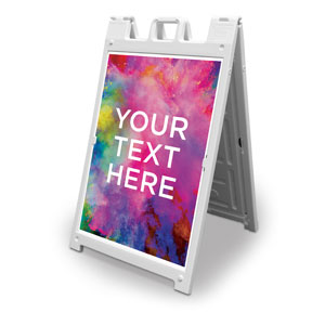 Back to Church Easter Your Text 2' x 3' Street Sign Banners