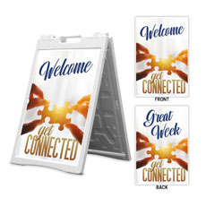 Connected Welcome Great Week