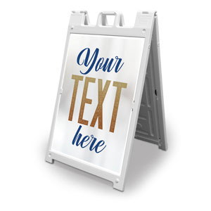 Connected Your Text 2' x 3' Street Sign Banners