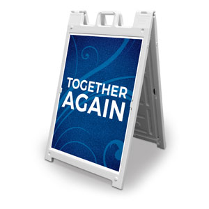 Flourish Together Again 2' x 3' Street Sign Banners