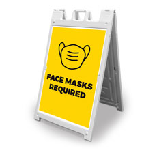 Yellow Face Masks Required
