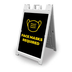 Black Face Masks  Required