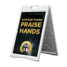 Hope Is Alive Gold Praise Hands