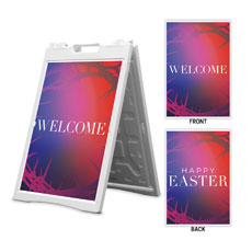 Celebrate Easter Crown Happy Easter Welcome