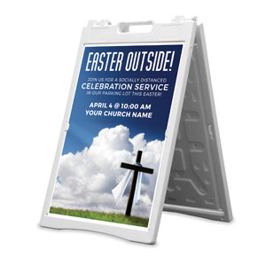 Easter Outside 2' x 3' Street Sign Banners