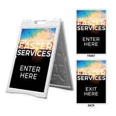 Drive In Easter Services Enter Exit