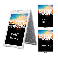 Drive In Easter Services Wait Here Parking