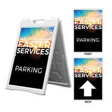 Drive In Easter Services Parking Arrows