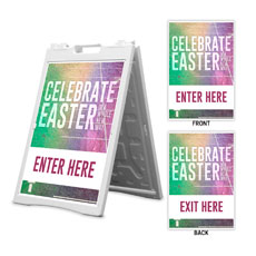 Easter New Way Enter Exit