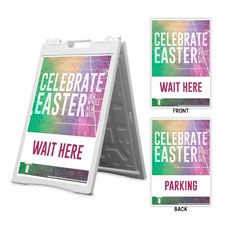 Easter New Way Wait Here Parking