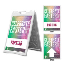 Easter New Way Parking Arrows