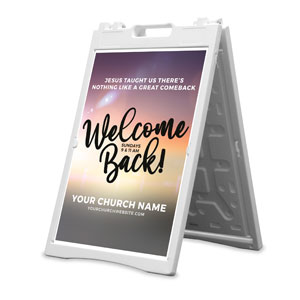 Jesus Comeback 2' x 3' Street Sign Banners