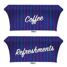 Modern Stripes Coffee Refreshments