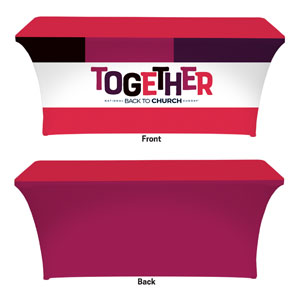 BTCS Together Stretch Table Covers