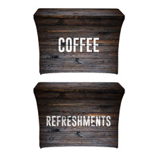 Dark Wood Coffee Refreshments