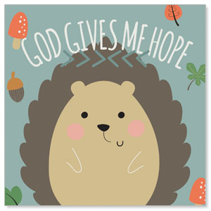 Woodland Friends Hedgehog Banners