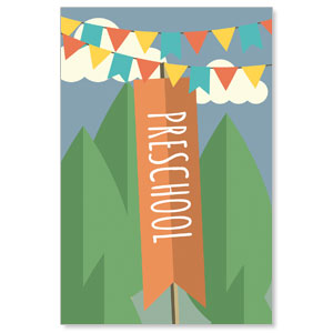 Woodland Friends Preschool Banners