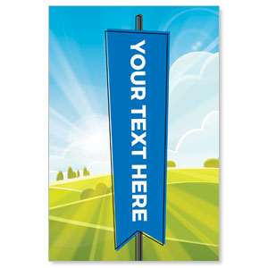 Bright Meadow Your Text Here Banners
