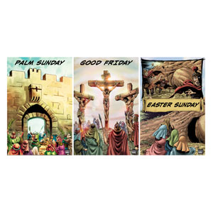 The Action Bible Holy Week Banners