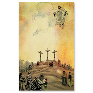 The Action Bible Crucifixion Ascension StickUp