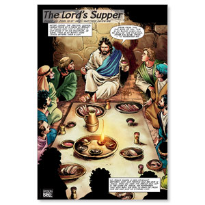 The Action Bible Lord's Supper Banners
