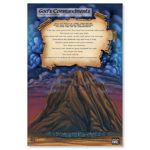 The Action Bible Ten Commandments Banners