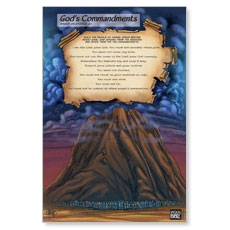 The Action Bible Ten Commandments