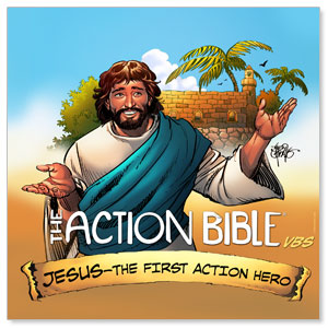 The Action Bible VBS Banners