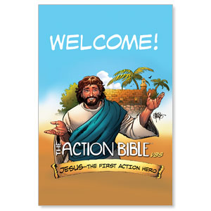 The Action Bible VBS Welcome Banners