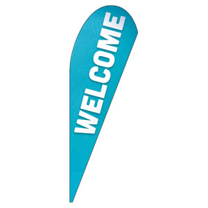 Family Welcome Teardrop Flag Banners