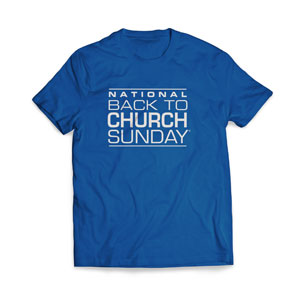 Back To Church Logo T-Shirts