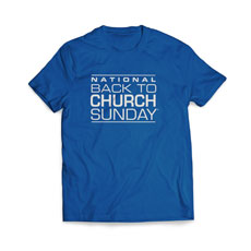 Back To Church Logo T-Shirt
