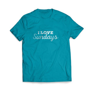 I Love Sundays T-Shirts