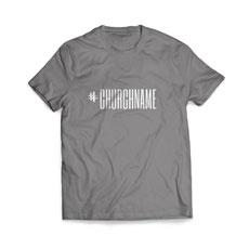 Hashtag Church Name T-Shirt