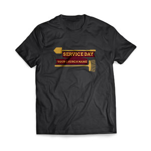 Service Day T-Shirts