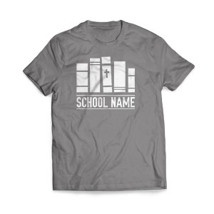 School Books - Large Customized T-shirts